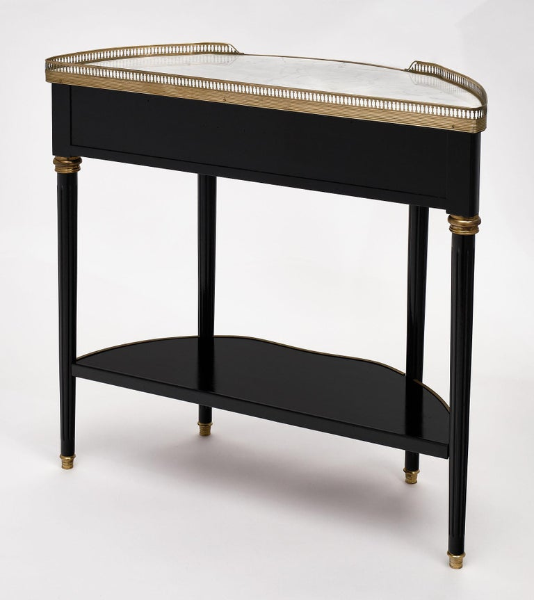 Louis XVI Style Console Table For Sale 3