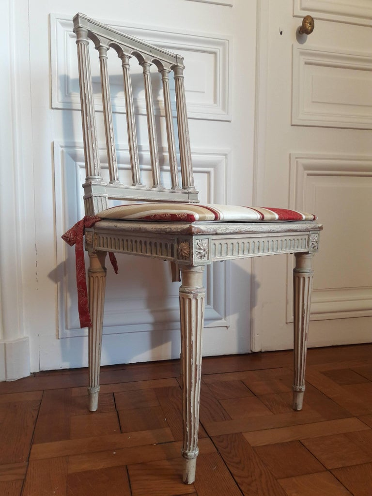 20th Century Louis XVI Style Dining Chairs, Set of Four For Sale