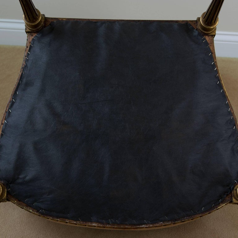 Louis XVI Style Fauteuil Chair For Sale 4