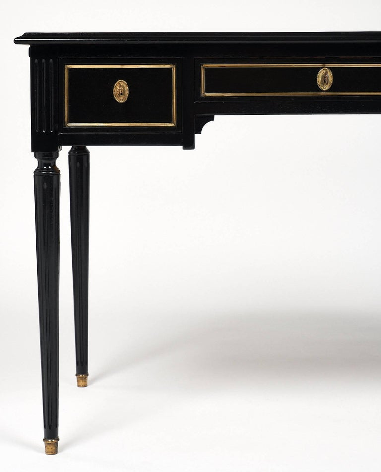 Louis XVI Style French Antique Writing Desk For Sale 1