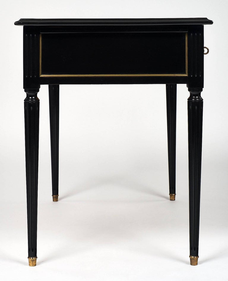 Louis XVI Style French Antique Writing Desk For Sale 4