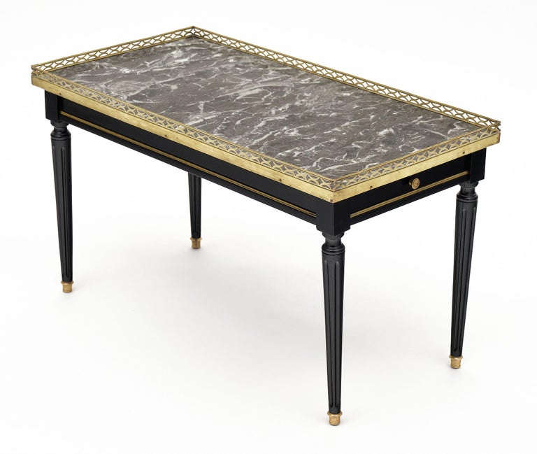 Louis XVI Style French Coffee Table For Sale 4