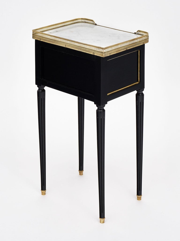 Louis XVI Style French Side Tables For Sale 4
