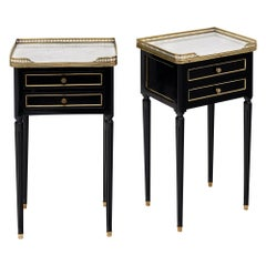Louis XVI Style French Side Tables