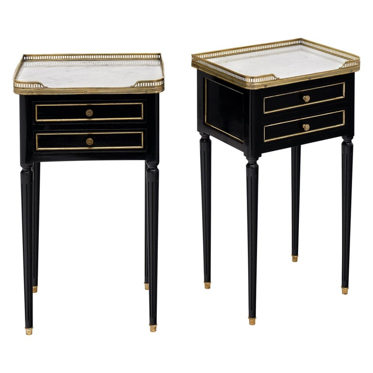 Louis XVI Style French Side Tables For Sale