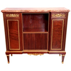 Louis XVI Style Gilt Bronze Mounted Cabinet by Paul Sormani