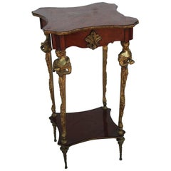 Empire Gilt Mounted Bronze Table