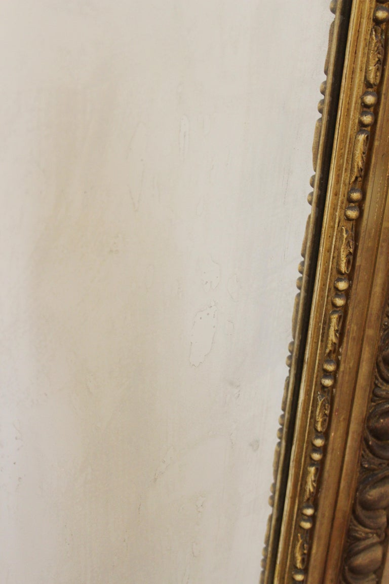 Louis XVI Style Giltwood Wall Mirror For Sale 8