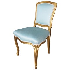 Louis XVI-Style Hollywood Regency Dining Chairs, circa 1950