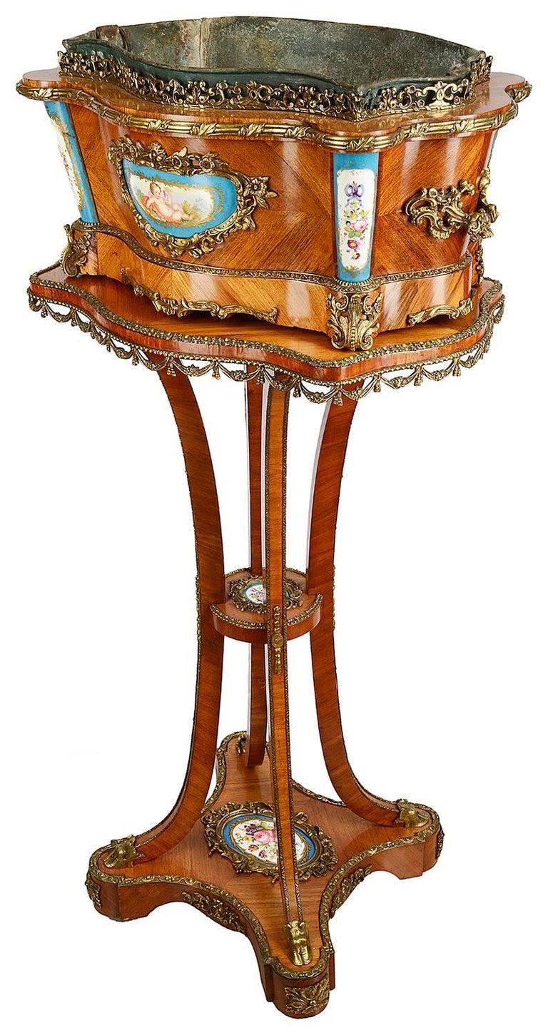 19th Century Louis XVI Style Jardinere For Sale
