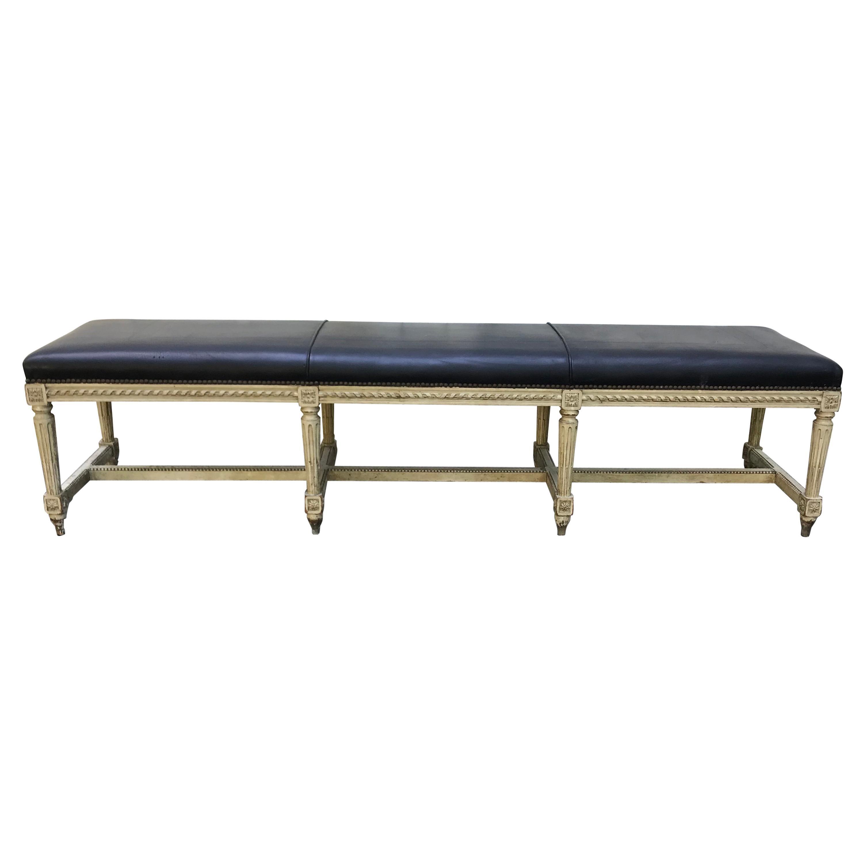 Louis XVI Style Long Bench