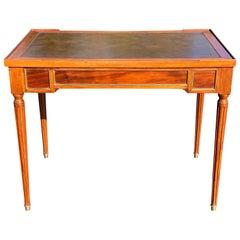 Louis XVI Style Mahogany Games Table