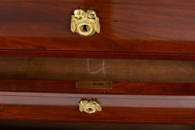 Louis XVI Style Mahogany Semanier For Sale 4