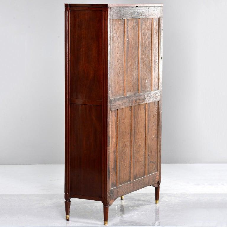 19th Century Louis XVI Style Mahogany Semanier For Sale