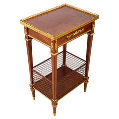 Louis XVI Style Mahogany Side Table, circa 1890