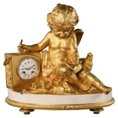 Louis XVI Style Mantel Clock, by Grohé Frères