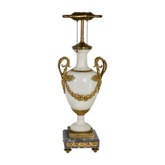 Louis XVI Style Marble and Ormolu Lamp, French, 19th Century