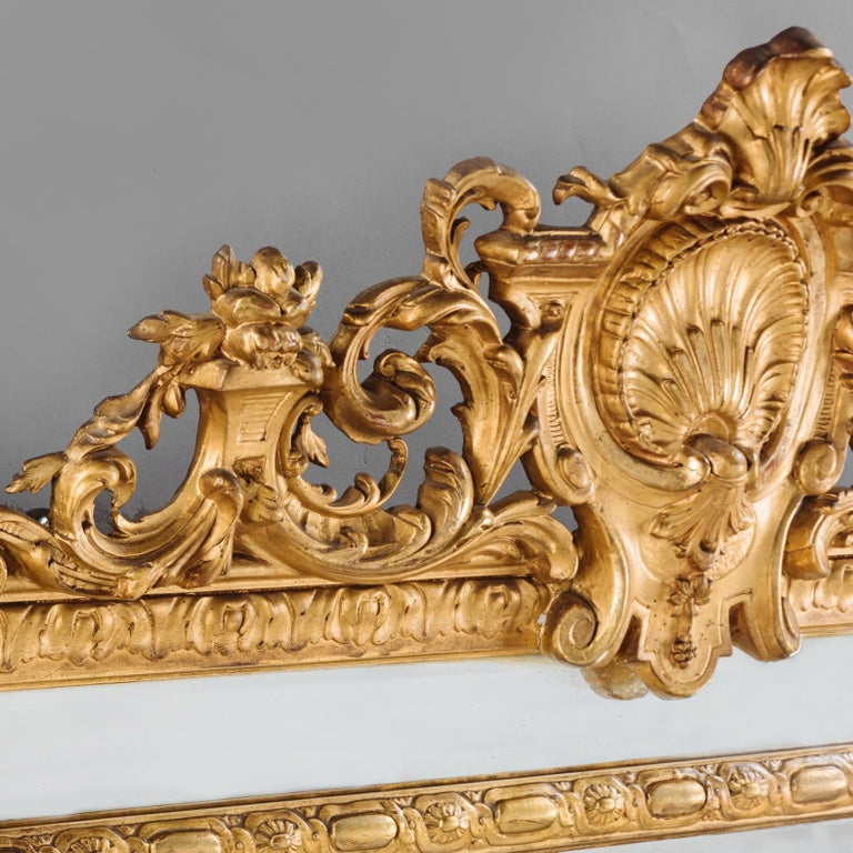 Louis XVI Style Marginal Frame Mirror, French, circa 1890 In Good Condition For Sale In London, GB