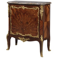 Louis XVI Style Marquetry Side Cabinet by François Linke, circa 1900