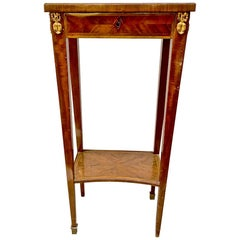 Louis XVI-Style Marquetry Stand