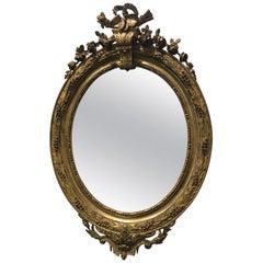 Louis XVI Style Mirror, France, 19th Century