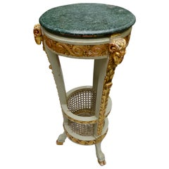 Louis XVI Style Painted Planter Table