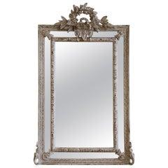 Louis XVI Style Parclose Mirror Made by La Maison London