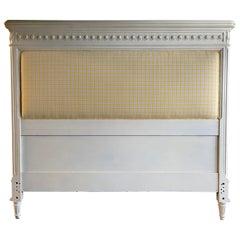 Louis XVI Style Queen Size Headboard/Bed