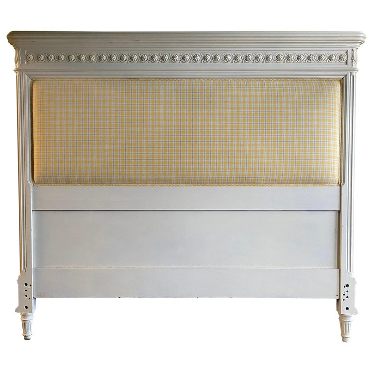 Louis XVI Style Queen Size Headboard/Bed For Sale