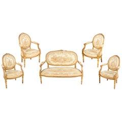 Louis XVI Style Salon Suite, 19th Century