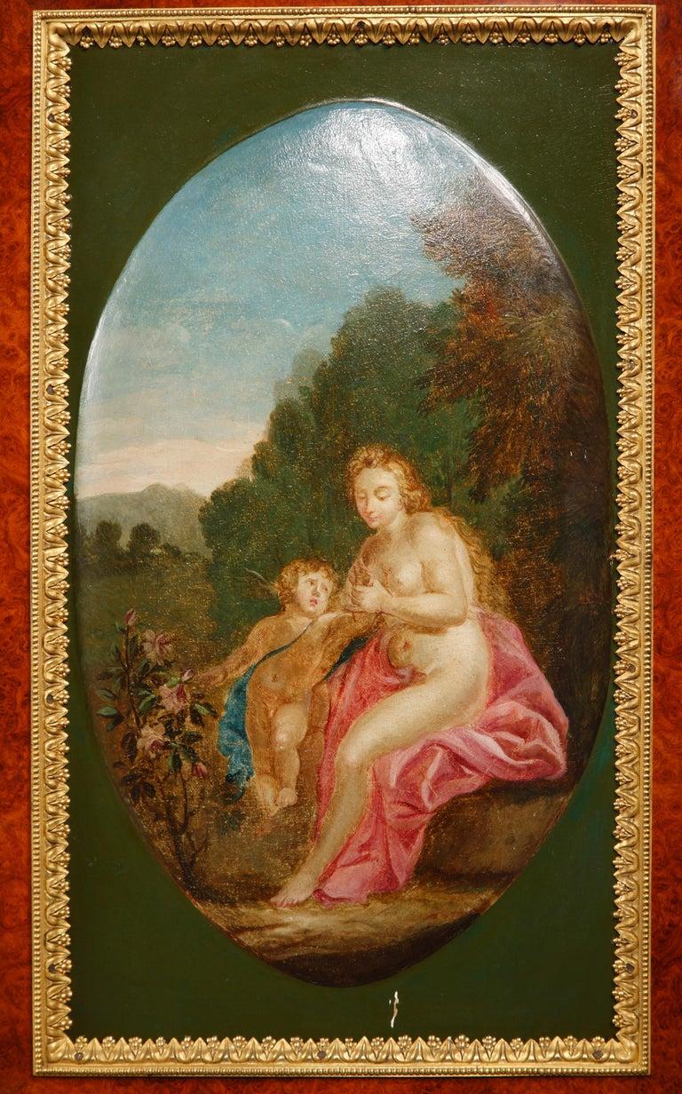 Bronze Louis XVI Style Secretary by H. Dasson For Sale