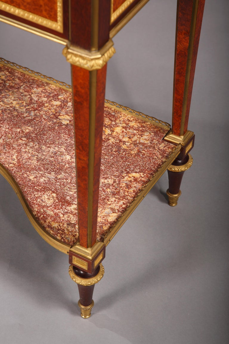 Louis XVI Style Secretary by H. Dasson For Sale 2