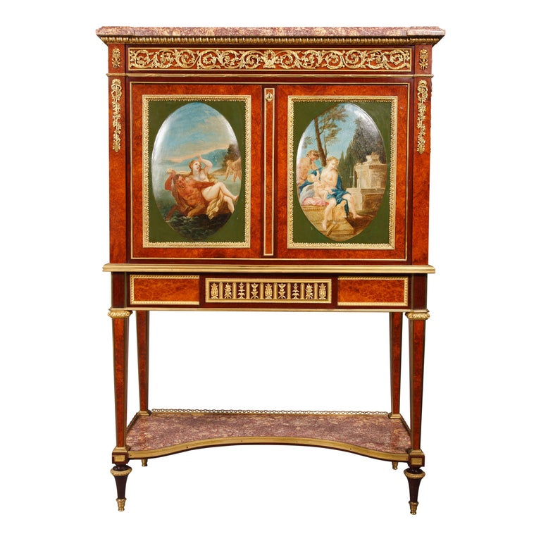Louis XVI Style Secretary by H. Dasson For Sale