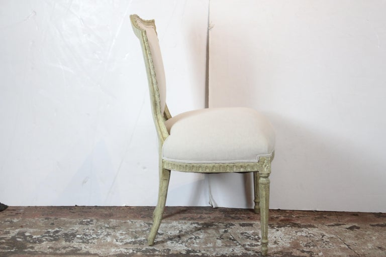 Louis XVI Style Side Chairs In Excellent Condition For Sale In Pasadena, CA