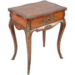 Louis XVI Style Side Table, 19th Century