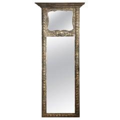 Louis XVI Style Trumeau Full Length Mirror