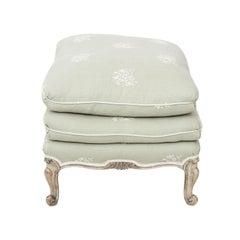 Louis XVI Style Upholstered Ottoman