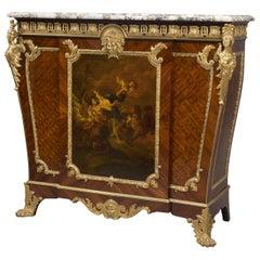 Louis XVI Style Vernis Martin Side Cabinet by François Linke, circa 1900