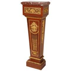 Louis XVI Style Wall-Side Pedestal