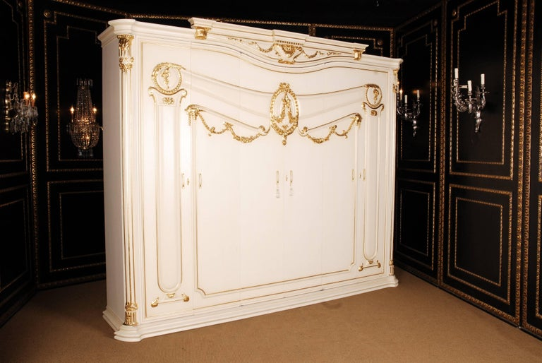 Wardrobe in Louis Seize style.