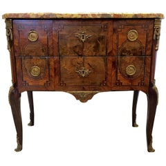 Louis XVI Two-Drawer Commode Signed Francois Rubestuck, circa 1765