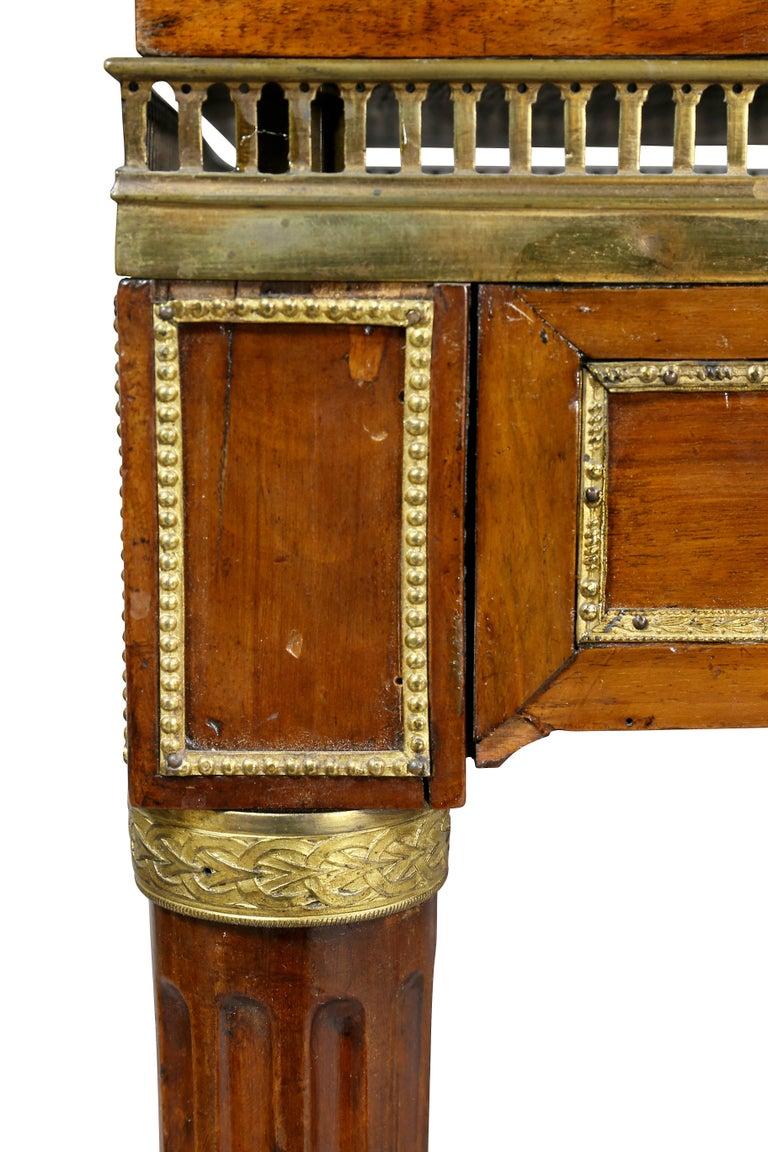 Louis XVI Walnut Architects Table a La Tronchin 2