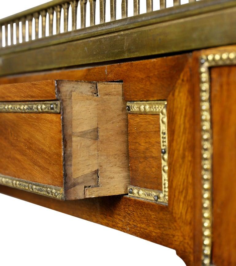 Louis XVI Walnut Architects Table a La Tronchin 3