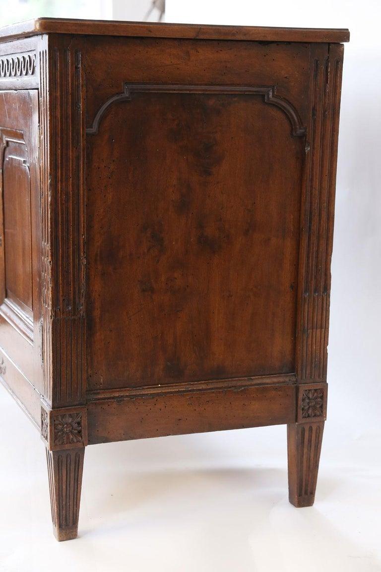 Louis XVI Walnut Buffet For Sale 8