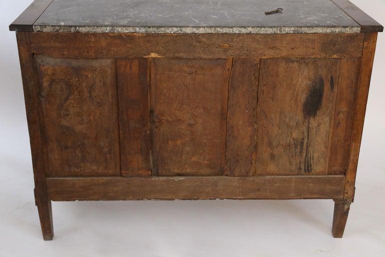 Louis XVI Walnut Buffet For Sale 11