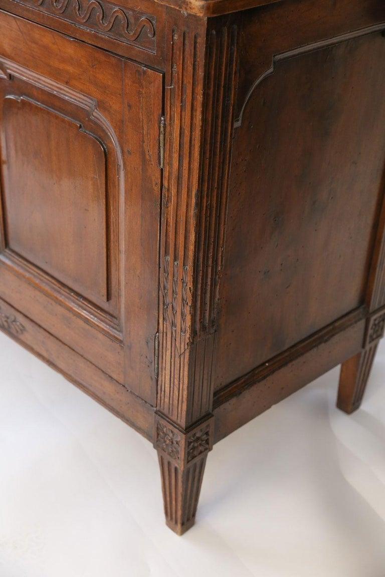 18th Century Louis XVI Walnut Buffet For Sale