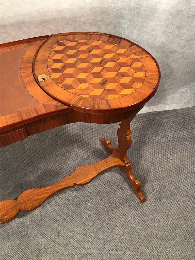 Maple Louis XVI Working Table, France, 1780 For Sale