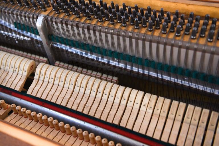 Louis Zwicki Midcentury Danish Teak Pianette 10