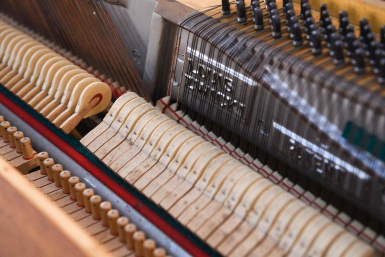 Louis Zwicki Midcentury Danish Teak Pianette 11
