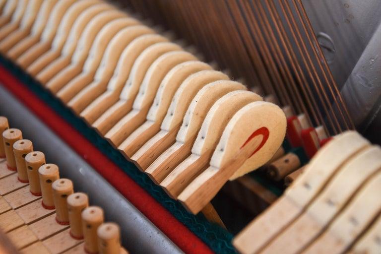 Louis Zwicki Midcentury Danish Teak Pianette 13